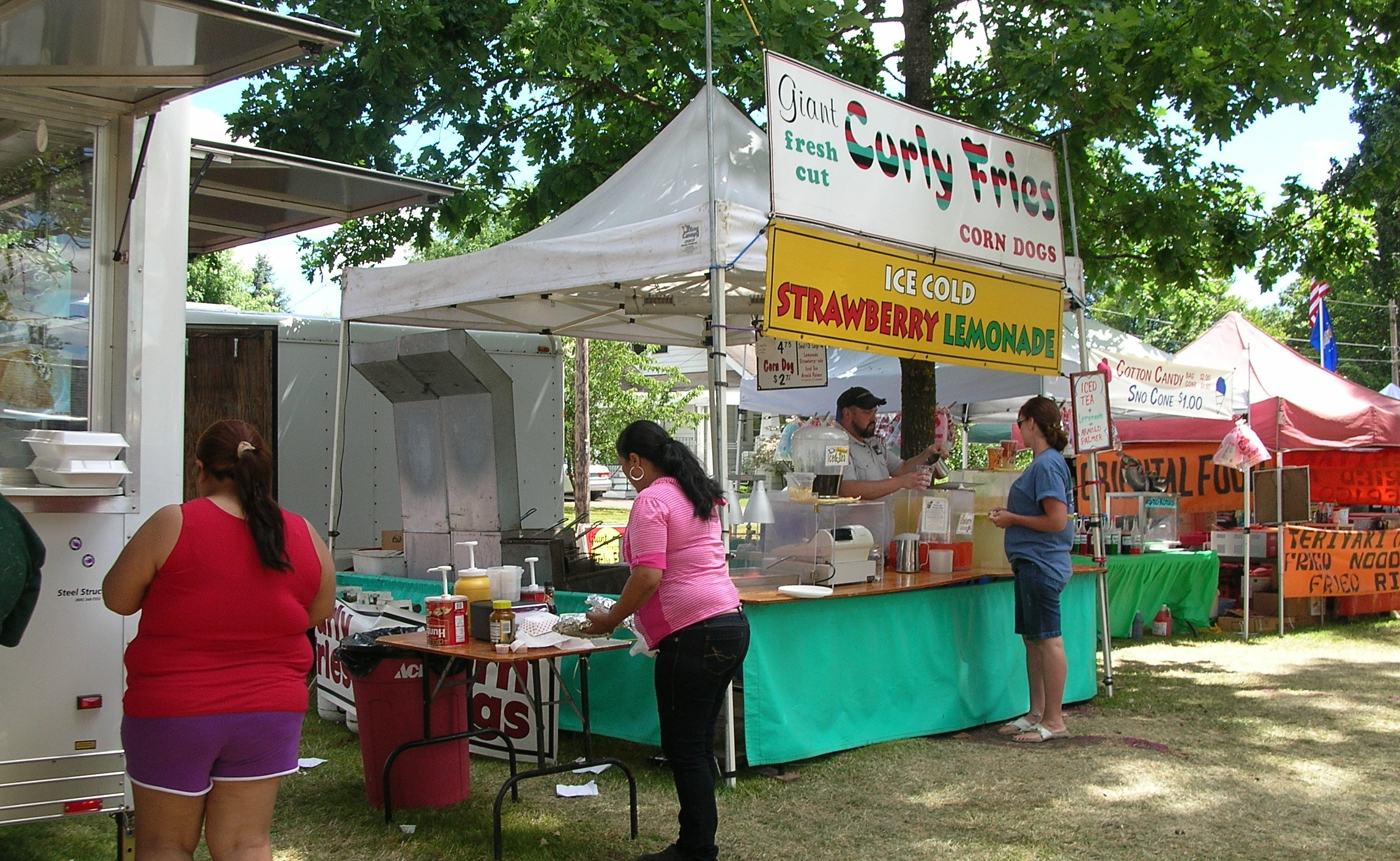 food booths & booth24 | Fair Food Food Carts and the Food Concession Business