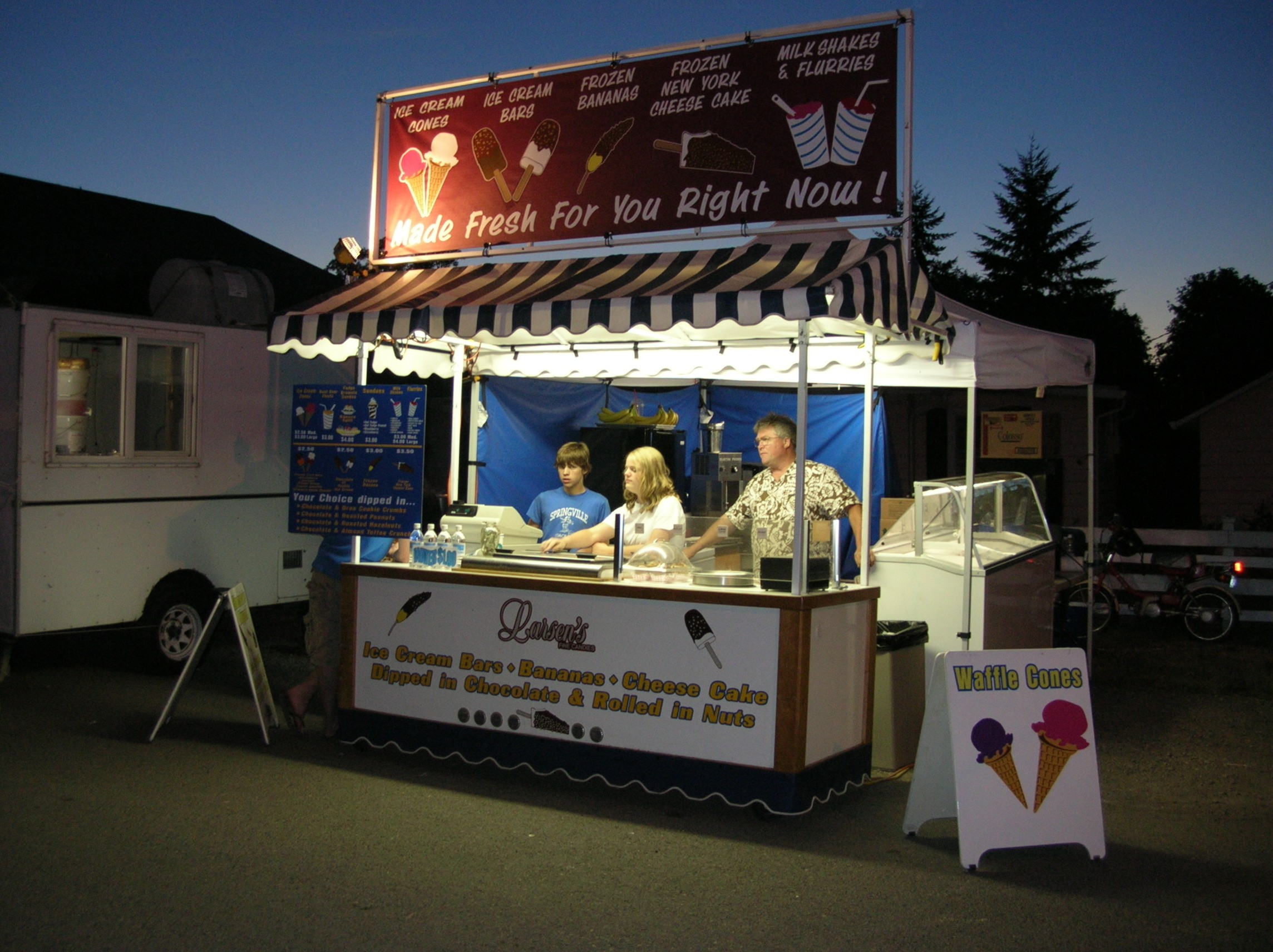 Icecream 71506 fair food food carts and the food concession business - Food booth ideas ...