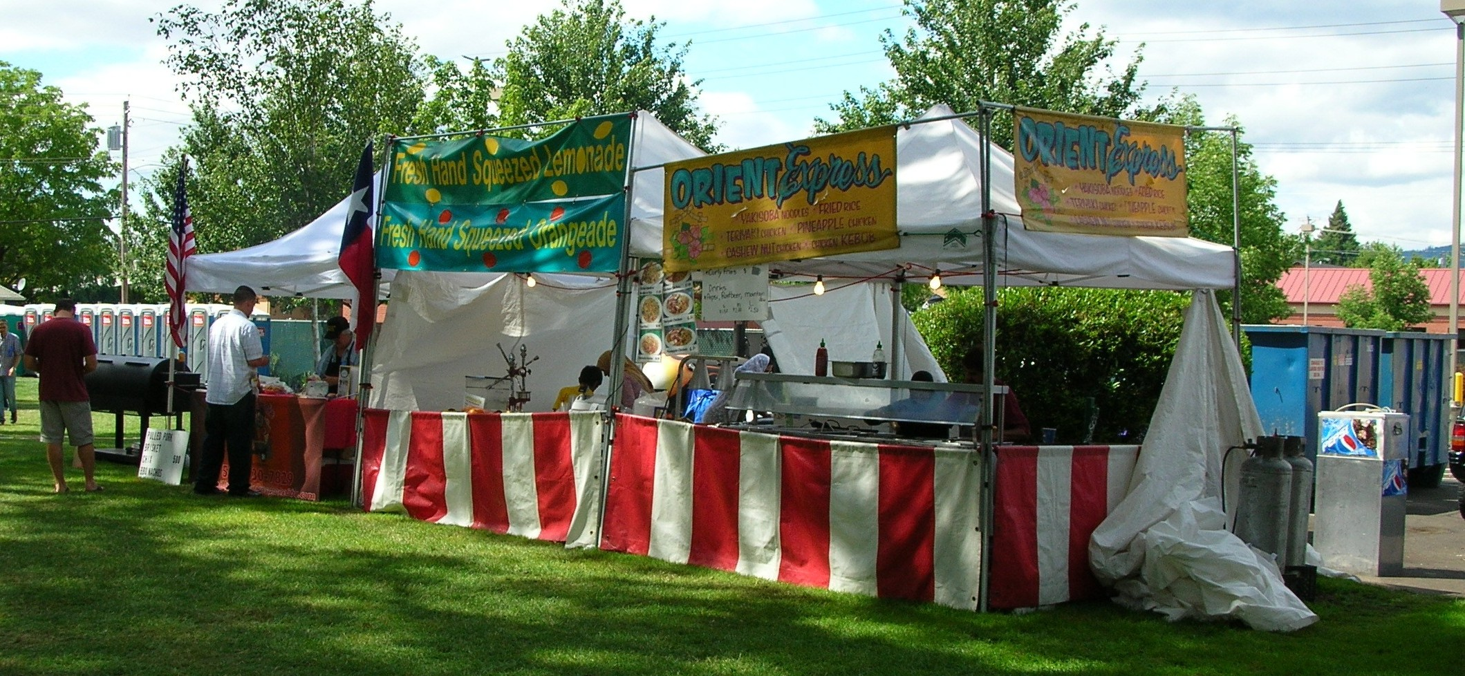 Concession Tents For Food Amp Mini Donut Business For Sale